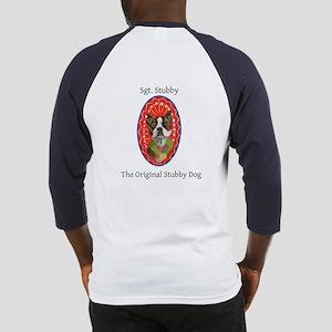 StubbyDog Logo & Sgt. Stubby Baseball Jersey