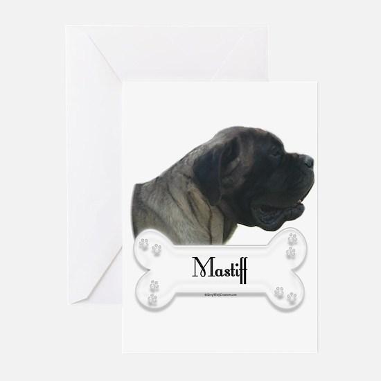 Mastiff 77 Greeting Cards (Pk of 10)