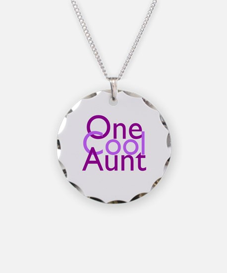 One Cool Aunt Necklace