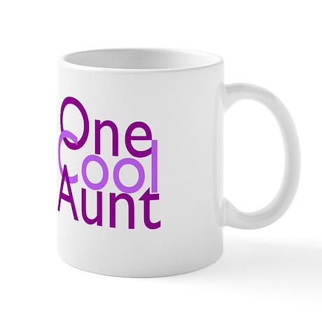 One Cool Aunt Mug