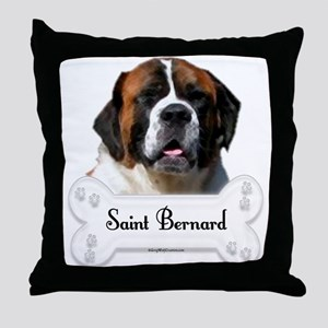Saint 9 Throw Pillow