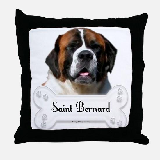 Saint 9 Throw Pillow