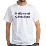 Hollywood, California--White T-Shirt
