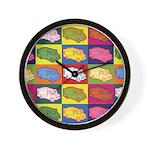 Food Truck Pop Art Wall Clock