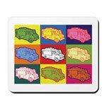 Food Truck Pop Art Mousepad