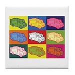 Food Truck Pop Art Tile Coaster