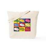 Food Truck Pop Art Tote Bag