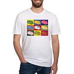 Food Truck Pop Art Fitted T-Shirt