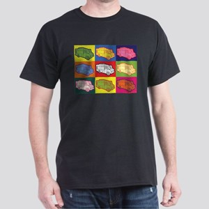 Food Truck Pop Art Dark T-Shirt