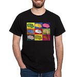 Food Truck Pop Art Dark T-Shirt