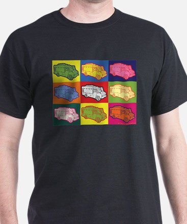 Food Truck Pop Art T-Shirt