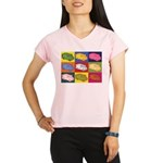 Food Truck Pop Art Performance Dry T-Shirt