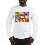 Food Truck Pop Art Long Sleeve T-Shirt