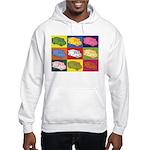 Food Truck Pop Art Hooded Sweatshirt