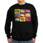 Food Truck Pop Art Sweatshirt (dark)