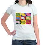 Food Truck Pop Art Jr. Ringer T-Shirt