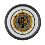 USS CONWAY Large Wall Clock