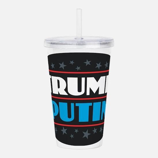 Trump Putin Acrylic Double-wall Tumbler