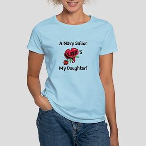 A Navy Sailor Loves my Daught Women's Light T-Shir