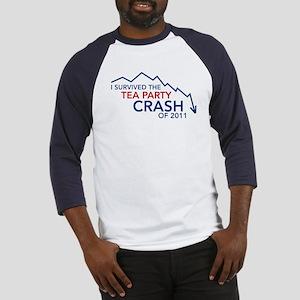 Tea Party Crash Baseball Jersey