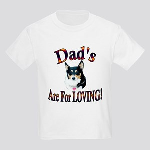 Dad's Are For Loving- Mist Kids Light T-Shirt