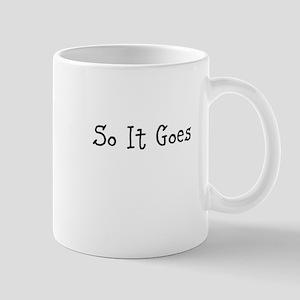 So It Goes Mugs