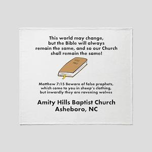 Amity Hills Throw Blanket