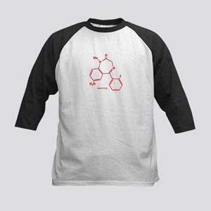 Rohypnol Molecule Kids Baseball Jersey