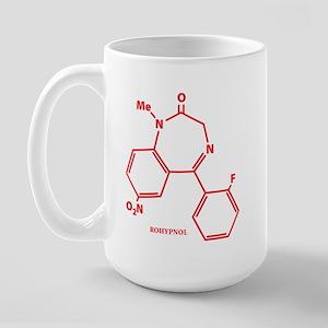 Rohypnol Molecule Large Mug