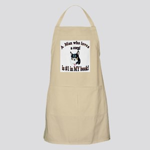 Man Who Loves a Corgi is #1 Apron