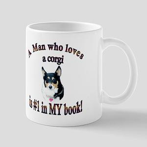 Man Who Loves a Corgi is #1 Mug