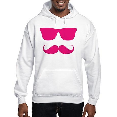 cool moustache Hooded Sweatshirt