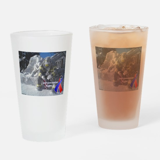 Remembering Flight 93 Drinking Glass