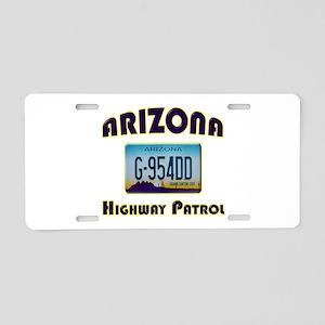 Arizona Highway Patrol Aluminum License Plate