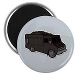 Food Truck: Basic (Black) Magnet
