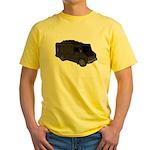 Food Truck: Basic (Black) Yellow T-Shirt