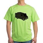 Food Truck: Basic (Black) Green T-Shirt