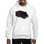 Food Truck: Basic (Black) Hooded Sweatshirt
