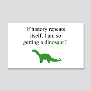 If History Repeats Car Magnet 20 x 12