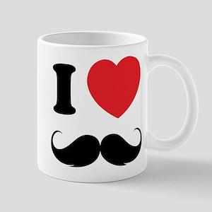 I love moustache Mug