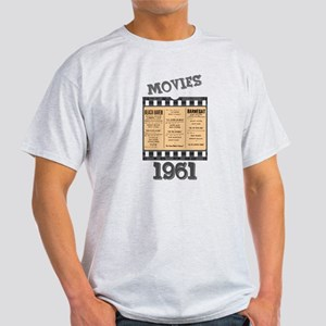 1961 Movies Light T-Shirt