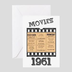 1961 Movies Greeting Card