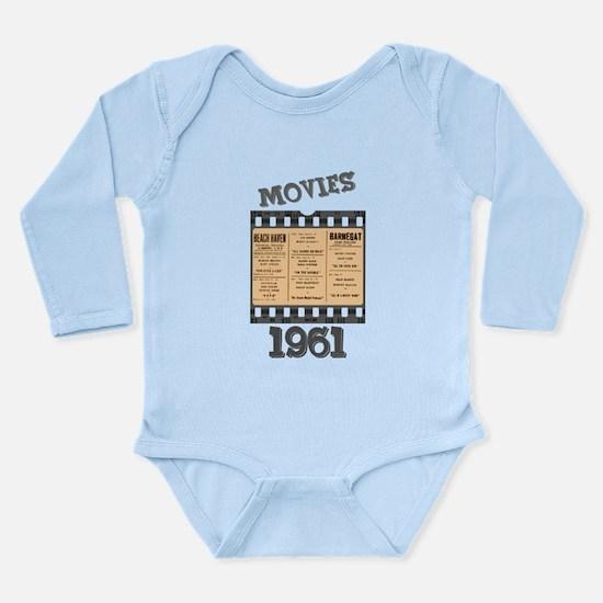 1961 Movies Long Sleeve Infant Bodysuit