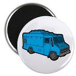 Food Truck: Basic (Blue) Magnet