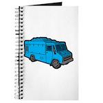Food Truck: Basic (Blue) Journal