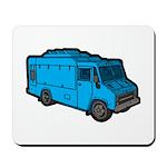 Food Truck: Basic (Blue) Mousepad