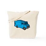 Food Truck: Basic (Blue) Tote Bag