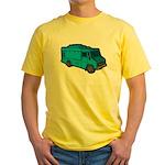 Food Truck: Basic (Blue) Yellow T-Shirt