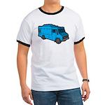 Food Truck: Basic (Blue) Ringer T