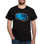 Food Truck: Basic (Blue) Dark T-Shirt